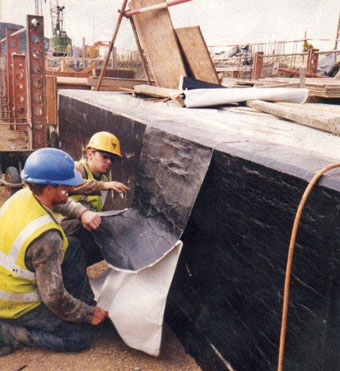 Tanking and gas membrane